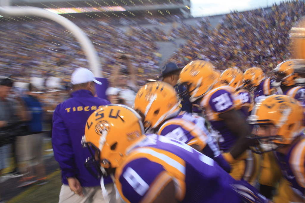 Here come the Tigers....