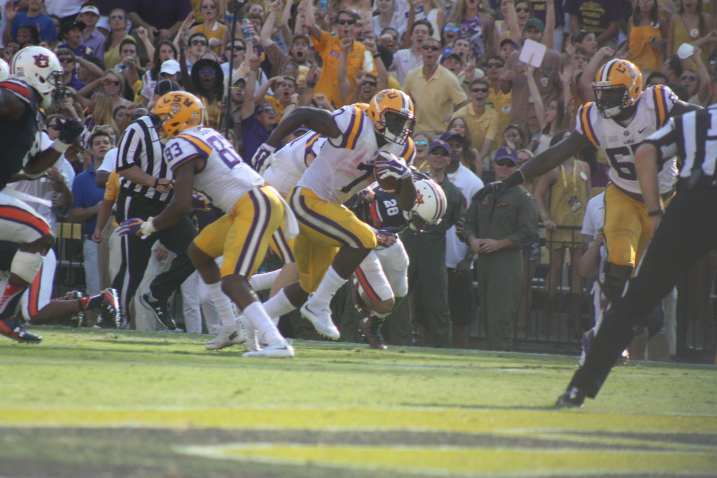There goes Fournette for his 2nd td of the day vs Auburn.