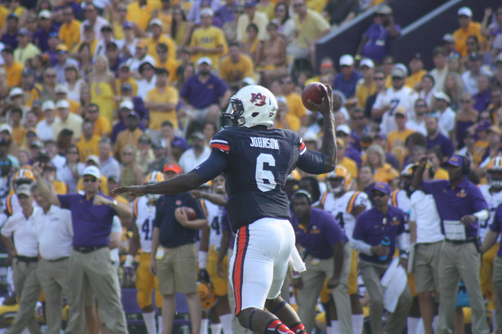 Auburn QB Jeremy Johnson will be on the bench for his next game vs Miss State.