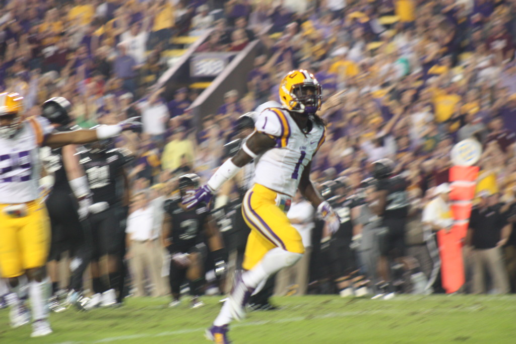 Donte Jackson is fired up....